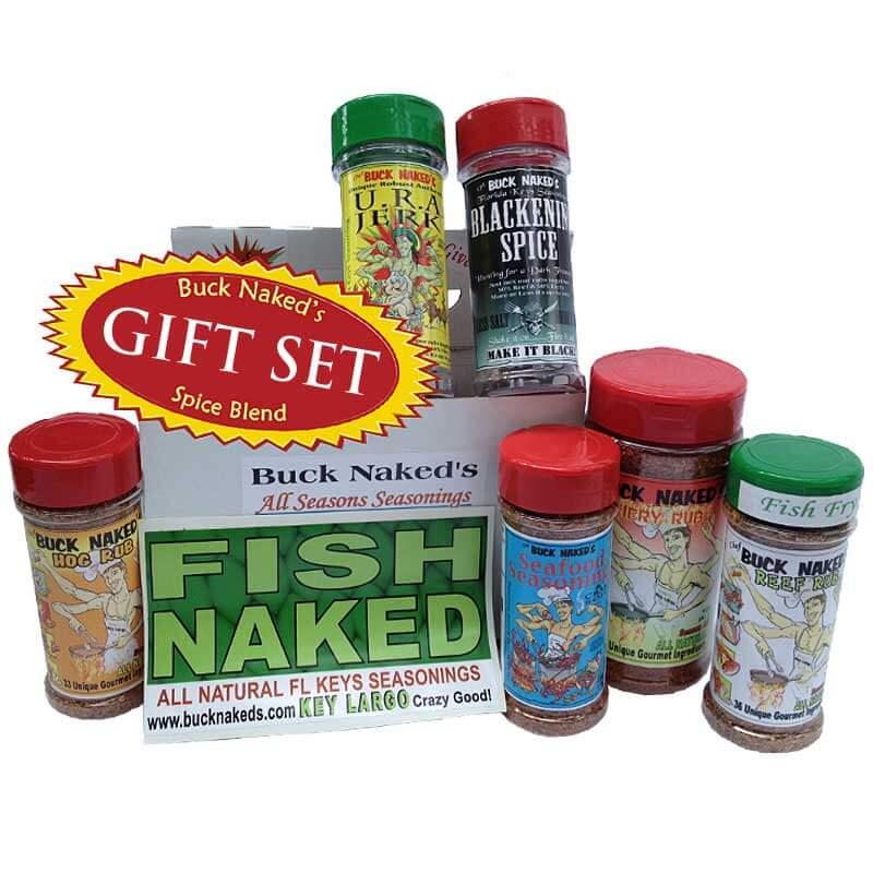 Buck Naked's Fish Naked Gift Set