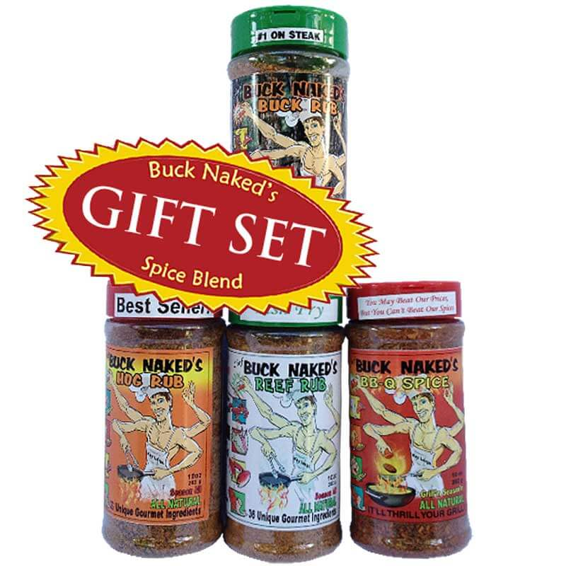 Buck Naked's Great Outdoor Four Gift Set